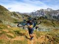 Auch die Mountainbiker kommen auf ihre Kosten
