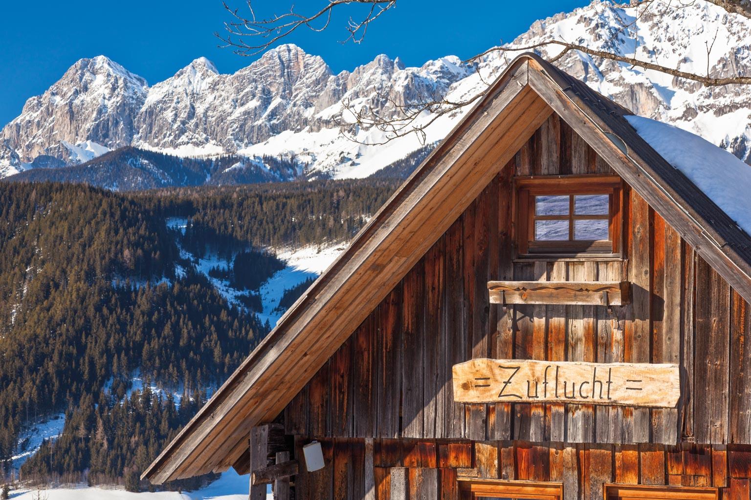 Hütte bei Rohrmoos